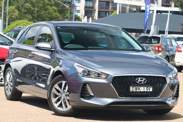 Used Hyundai i30 PD2 Update Active Rosebery, 2018 Hyundai i30 PD2 Update Active Iron Grey 6 Speed Auto Sequential Hatchback