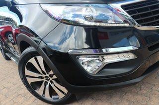 2011 Kia Sportage SL MY12 Platinum (AWD) Black 6 Speed Automatic Wagon.