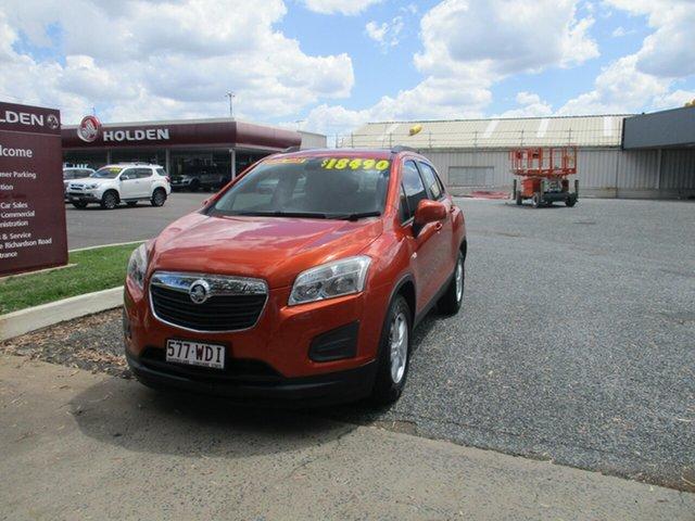 Used Holden Trax TJ MY16 LS North Rockhampton, 2015 Holden Trax TJ MY16 LS Orange 6 Speed Automatic Wagon