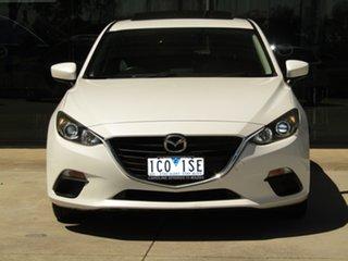 2014 Mazda 3 BM5476 Touring SKYACTIV-MT White 6 Speed Manual Hatchback.