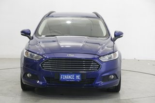 2016 Ford Mondeo MD Ambiente Deep Impact Blue 6 Speed Sports Automatic Dual Clutch Wagon.