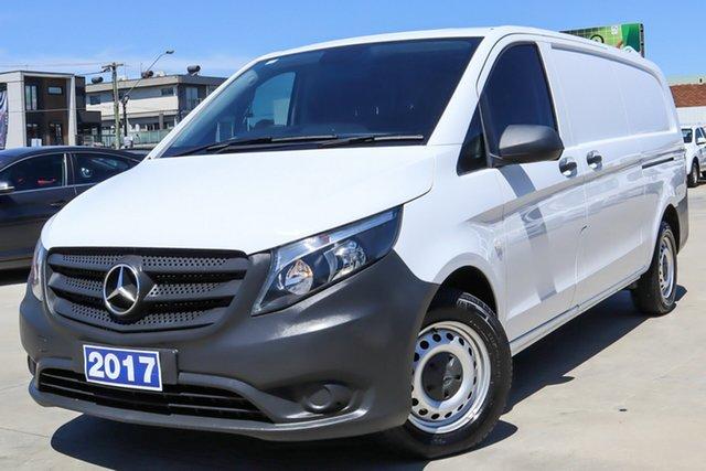 Used Mercedes-Benz Vito 447 111CDI LWB Coburg North, 2017 Mercedes-Benz Vito 447 111CDI LWB White 6 Speed Manual Van