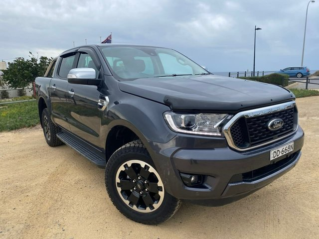 Used Ford Ranger PX MkIII 2021.25MY XLT Christies Beach, 2020 Ford Ranger PX MkIII 2021.25MY XLT Grey 10 Speed Sports Automatic Double Cab Pick Up