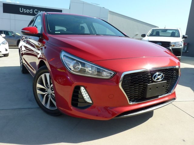 Pre-Owned Hyundai i30 PD2 MY20 Active Blacktown, 2019 Hyundai i30 PD2 MY20 Active Fiery Red 6 Speed Sports Automatic Hatchback