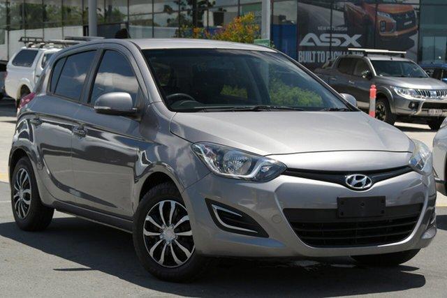 Used Hyundai i20 PB MY14 Active Aspley, 2014 Hyundai i20 PB MY14 Active Grey 4 Speed Automatic Hatchback