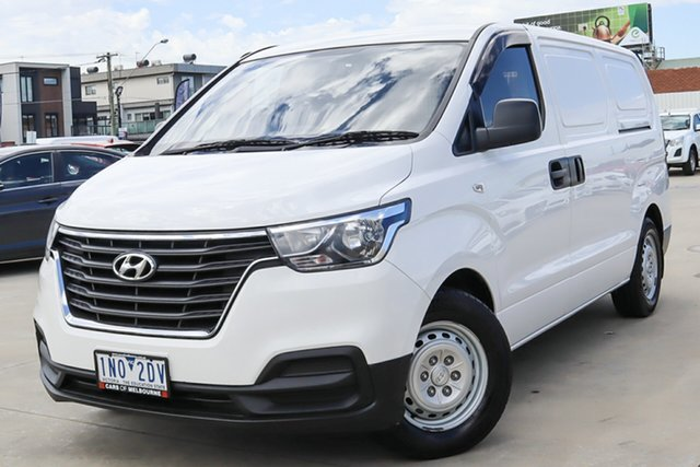 Used Hyundai iLOAD TQ4 MY19 Coburg North, 2018 Hyundai iLOAD TQ4 MY19 White 5 Speed Automatic Van