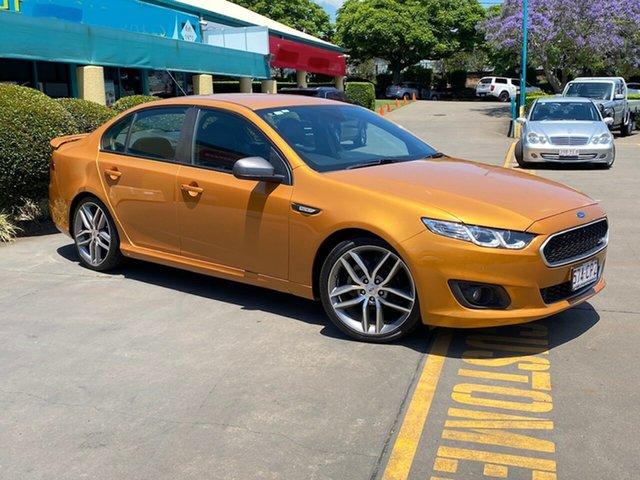 Used Ford Falcon FG X XR6 Toowoomba, 2015 Ford Falcon FG X XR6 Gold 6 Speed Manual Sedan