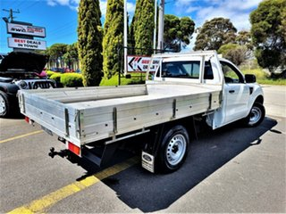 2012 Ford Ranger PX XL White 5 Speed Manual Cab Chassis.