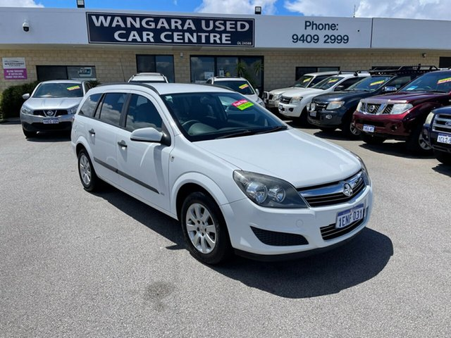 Used Holden Astra AH MY08.5 60th Anniversary Wangara, 2008 Holden Astra AH MY08.5 60th Anniversary White 4 Speed Automatic Wagon