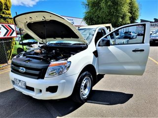 2012 Ford Ranger PX XL White 5 Speed Manual Cab Chassis