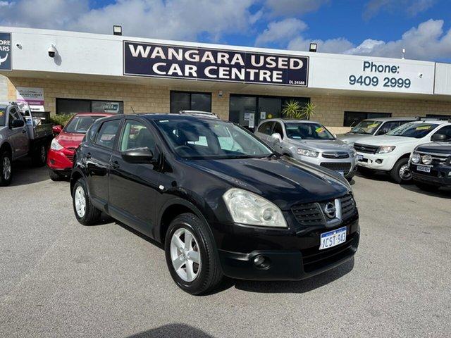 Used Nissan Dualis J10 TI (4x4) Wangara, 2008 Nissan Dualis J10 TI (4x4) Black 6 Speed Manual Wagon
