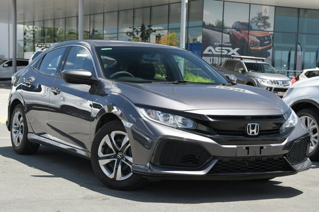 Used Honda Civic 10th Gen MY17 VTi Aspley, 2017 Honda Civic 10th Gen MY17 VTi Grey 1 Speed Constant Variable Hatchback