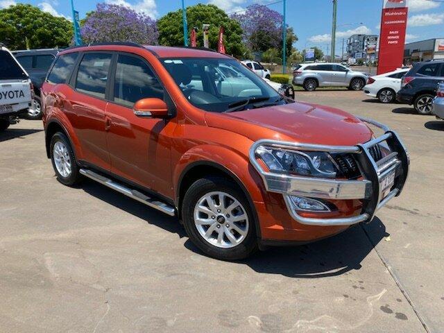 Used Mahindra XUV500 Toowoomba, 2017 Mahindra XUV500 2018 W8 G140 Orange 6 Speed Automatic Wagon