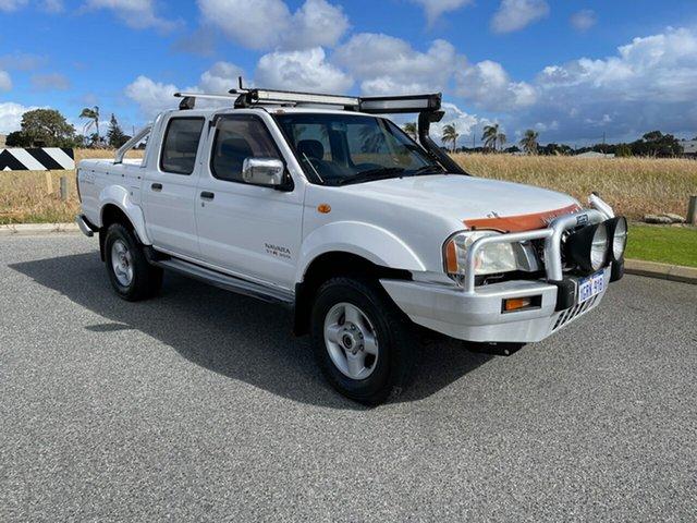 Used Nissan Navara D22 ST-R (4x4) Wangara, 2005 Nissan Navara D22 ST-R (4x4) White 5 Speed Manual Dual Cab Pick-up