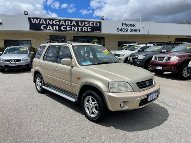 Used Honda CR-V (4x4) Sport Wangara, 2001 Honda CR-V (4x4) Sport Gold 4 Speed Automatic 4x4 Wagon